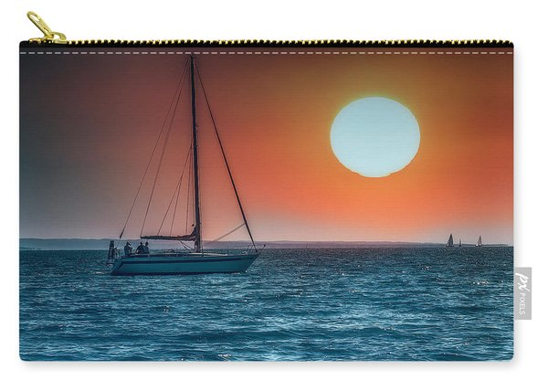 Sailing Into The Sunset Carry-all Pouch