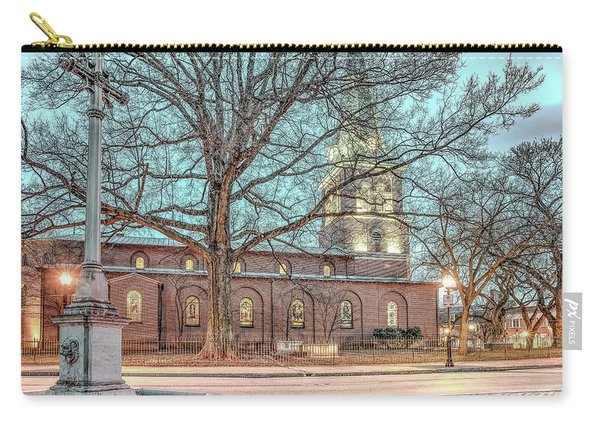 Saint Annes Circle With Fountain Carry-all Pouch