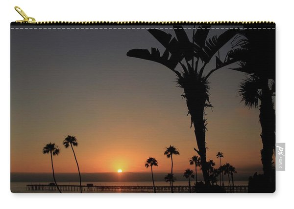 San Clemente Sunset Carry-all Pouch