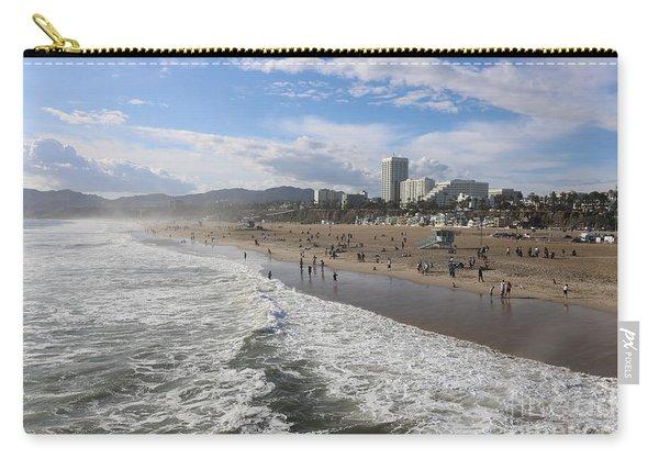 Santa Monica Beach, Santa Monica, California Carry-all Pouch