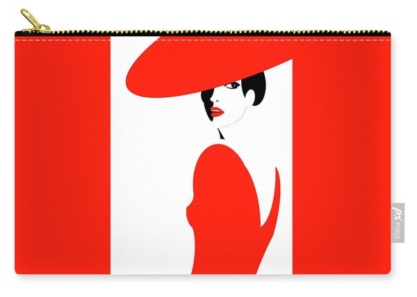 Scarlet Woman 1 Carry-all Pouch