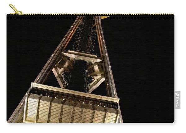 Seattle Space Needle At Night Carry-all Pouch