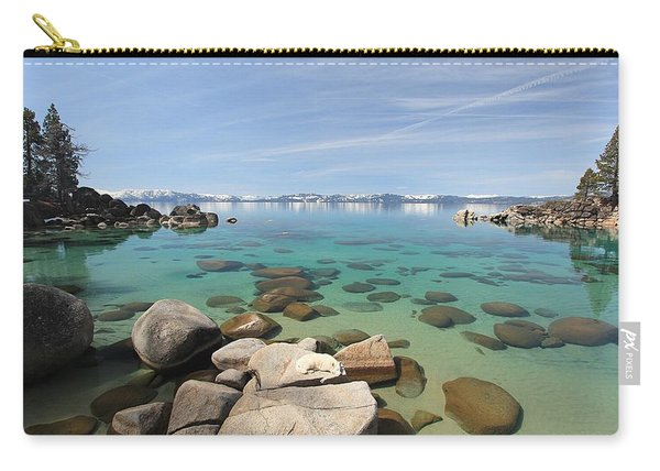Carry-all Pouch featuring the photograph Sekani Dreams by Sean Sarsfield