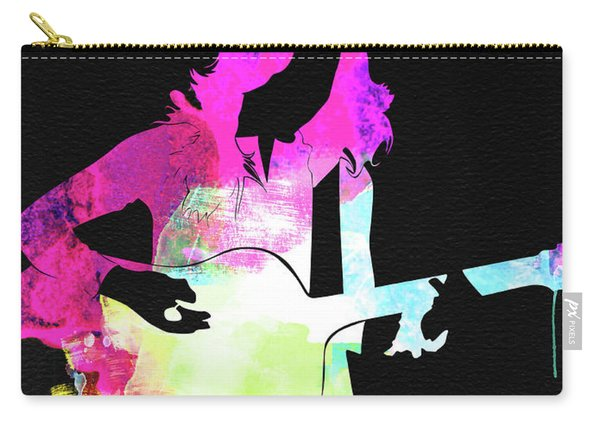 Sheryl Crow Watercolor Carry-all Pouch