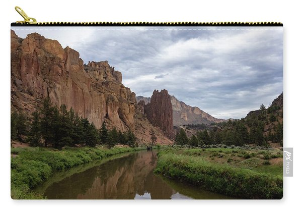 Smith Rock Reflections Carry-all Pouch