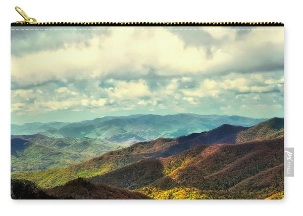 Smoky Mountain Memory Carry-all Pouch