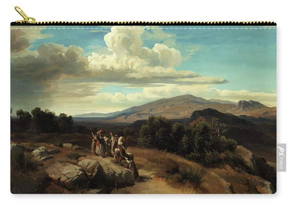 Spanish Landscape Carry-all Pouch