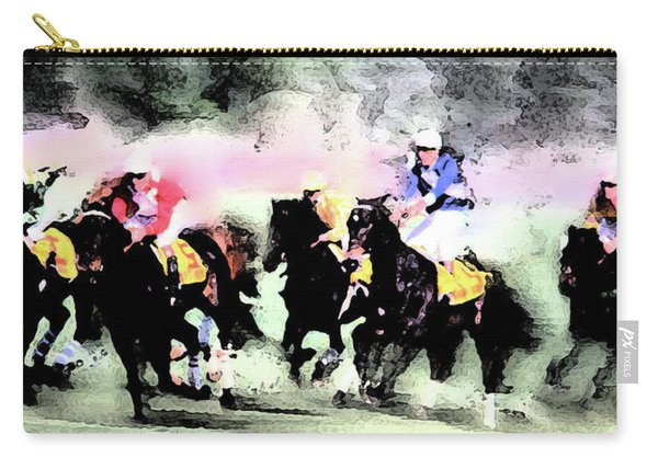 Steeple Chase Colors Carry-all Pouch