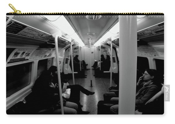 Carry-all Pouch featuring the photograph Subway by Edward Lee