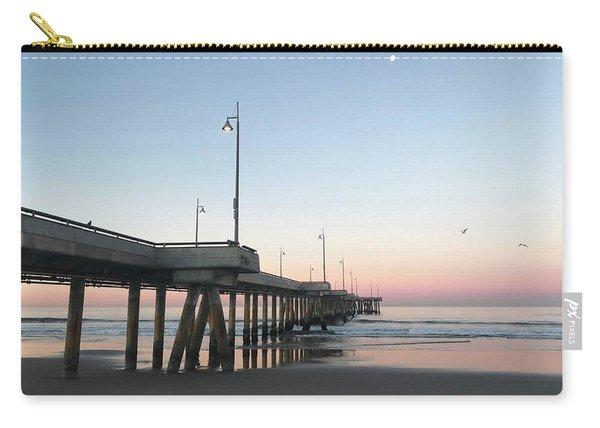 Sunrise At Venice Beach Pier Carry-all Pouch