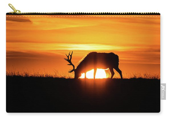 Sunrise Elk Carry-all Pouch