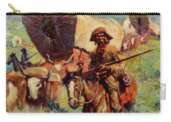The Covered Wagon Carry-all Pouch