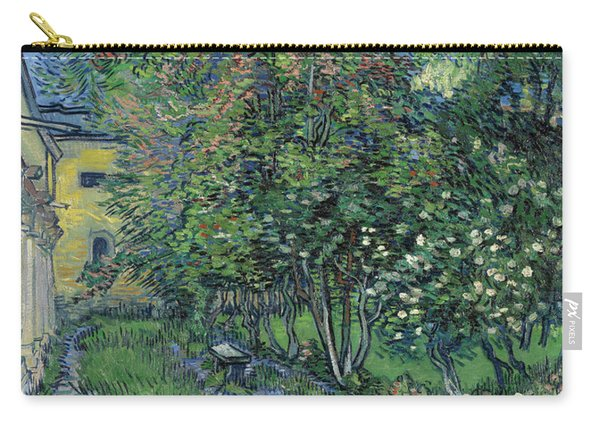 The Garden Of The Asylum At Saint-remy Carry-all Pouch