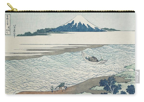 The Jewel River In Musashi Province Carry-all Pouch