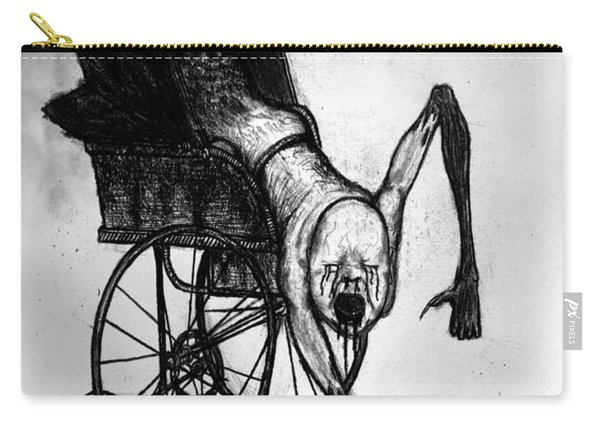 The Nightmare Carriage - Artwork Carry-all Pouch
