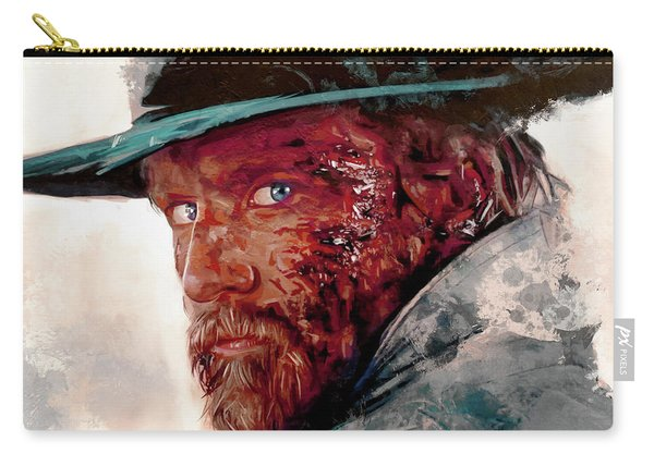The Wounded Cowboy Carry-all Pouch