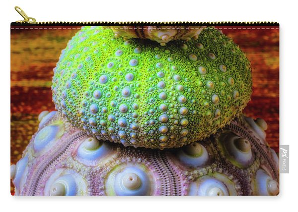 Three Sea Urchins Carry-all Pouch