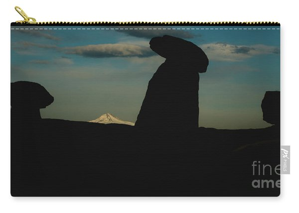 Turkish Landscapes With Snowy Mountains In The Background Carry-all Pouch