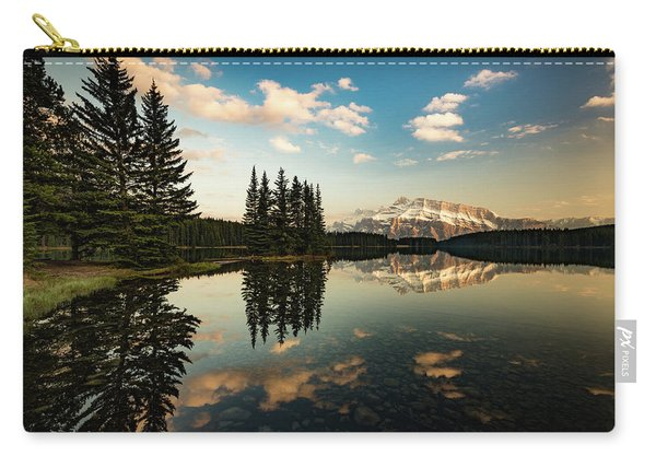 Two Jack Lake And Mount Rundle Carry-all Pouch