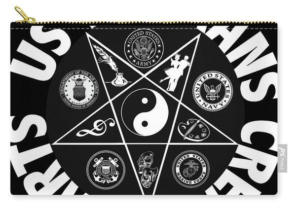 U.s. Veterans Creative Arts Carry-all Pouch