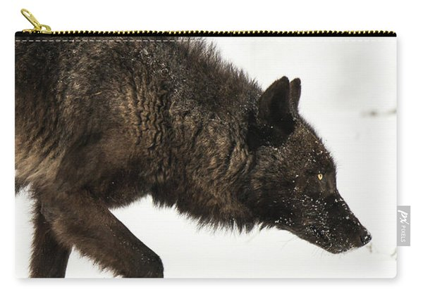 Carry-all Pouch featuring the photograph W46 by Joshua Able's Wildlife
