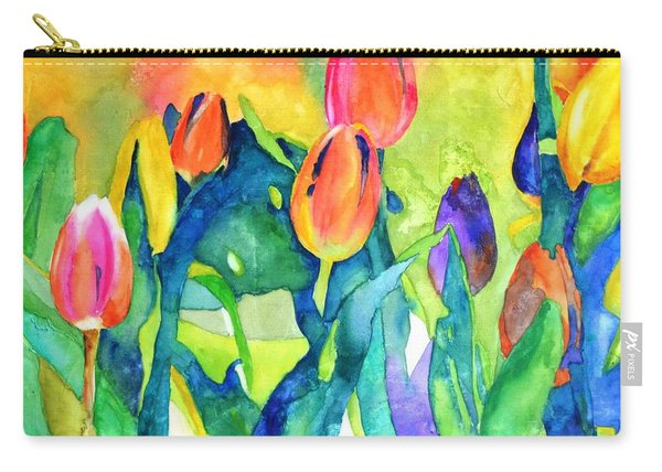 Welcome Spring #1 Carry-all Pouch