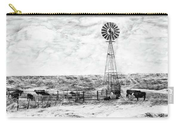 Carry-all Pouch featuring the digital art Winter Storm II by Don Northup