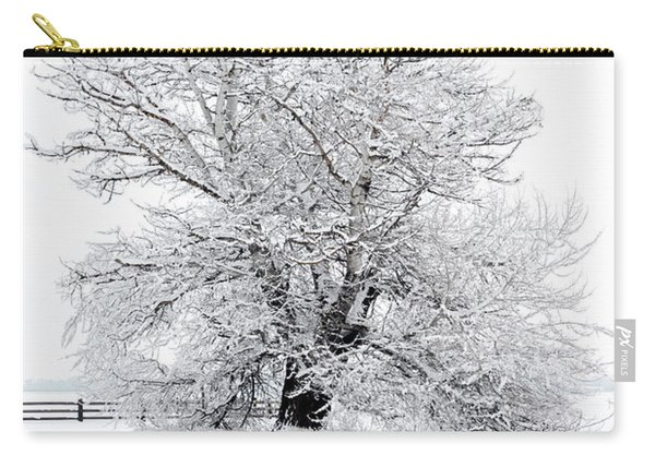 Winter White Carry-all Pouch