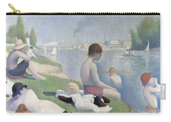 Bathers At Asnieres Carry-all Pouch
