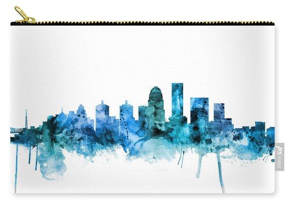 Louisville Kentucky City Skyline Carry-all Pouch