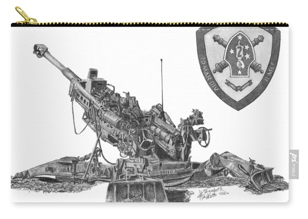 10th Marines 777 Carry-all Pouch