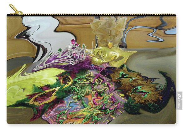 121618 Mardi Gra Morning Carry-all Pouch
