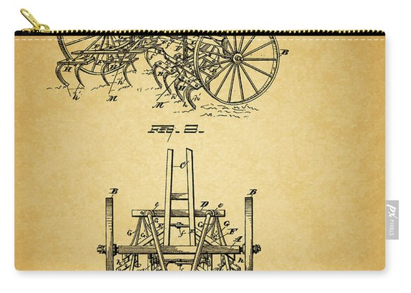 1885 Harrow Patent Carry-all Pouch