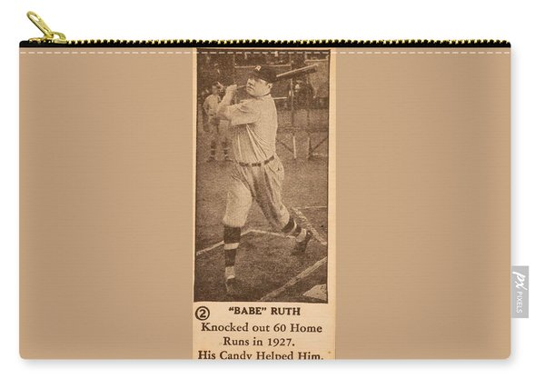 1928 Babe Ruth Candy Babe Ruth Carry-all Pouch