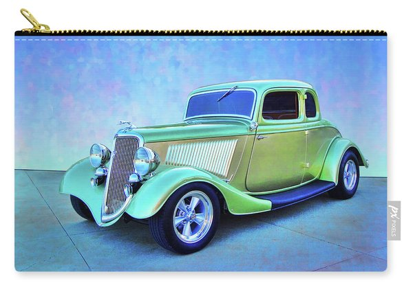 1934 Green Ford Carry-all Pouch