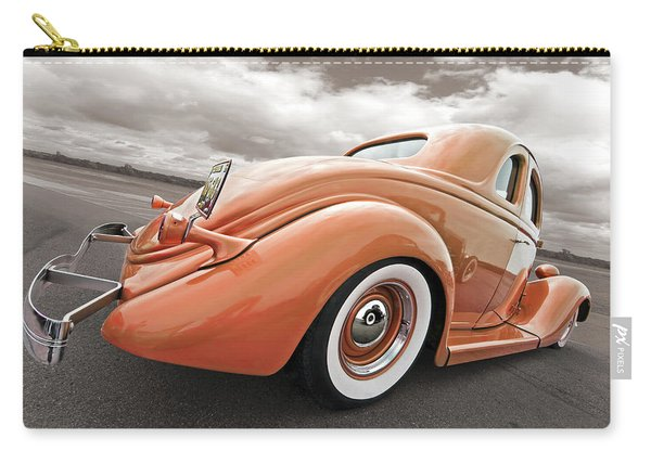 1935 Ford Coupe In Bronze Carry-all Pouch
