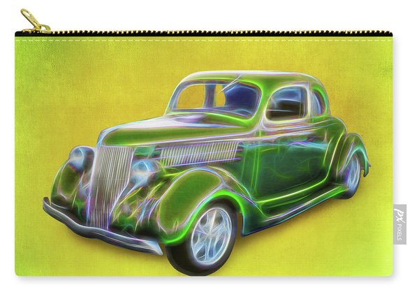 1936 Green Ford Carry-all Pouch