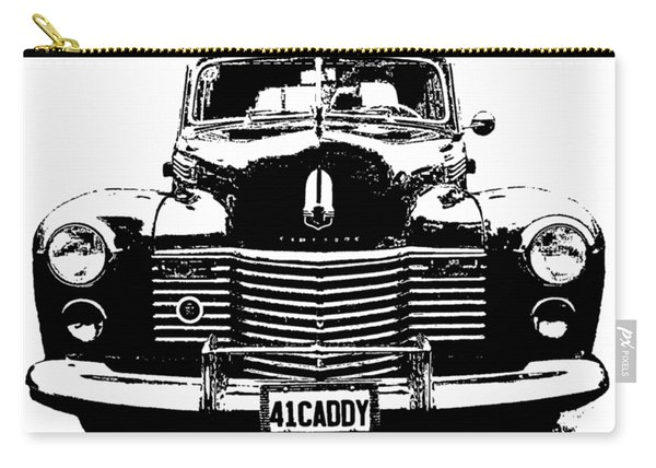 1941 Cadillac Front Blk Carry-all Pouch