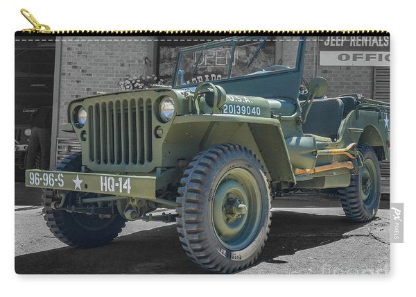 1942 Willys Gpw Carry-all Pouch