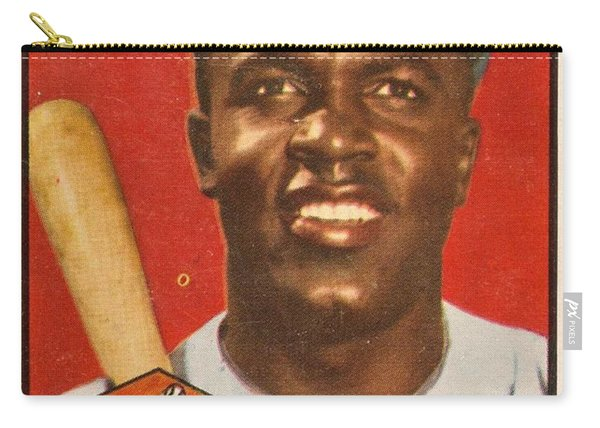 1952 Topps Jackie Robinson 2 Carry-all Pouch