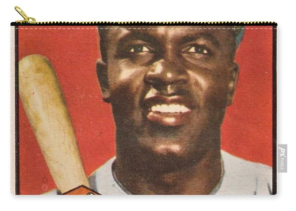 1952 Topps Jackie Robinson Carry-all Pouch