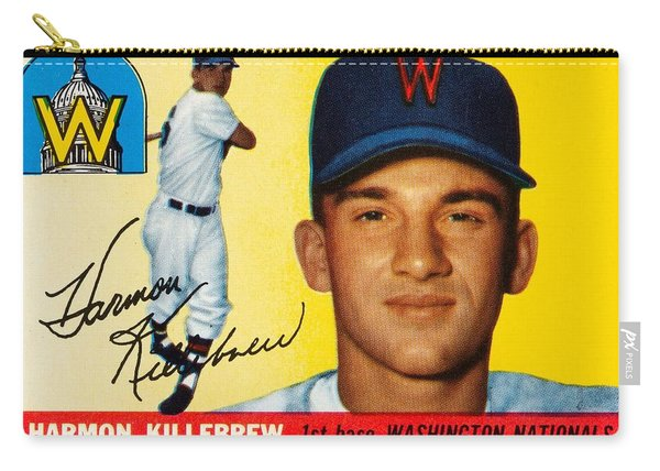 1955 Topps Harmon Killebrew Carry-all Pouch