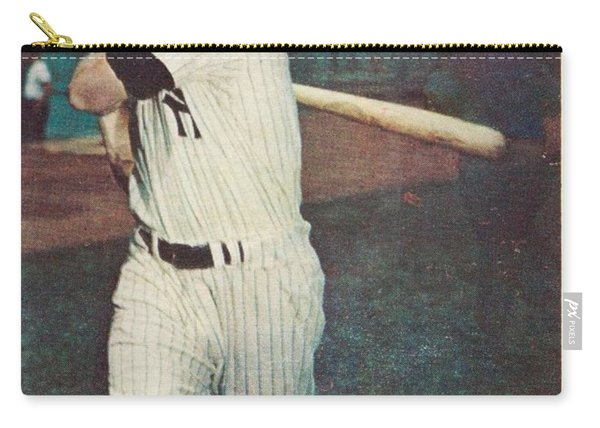 1957 Topps Mickey Mantle Carry-all Pouch