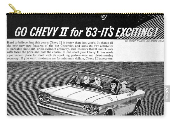 1963 Chevy Add Carry-all Pouch