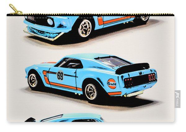 1969 Ford Mustang Boss 302 Carry-all Pouch