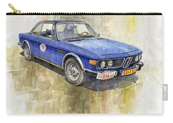1972 Bmw 3.0 Csi Coupe  Carry-all Pouch