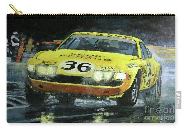 1972 Lemans 24 Ferrari 365 Gtb Bell Pilette Bond Carry-all Pouch