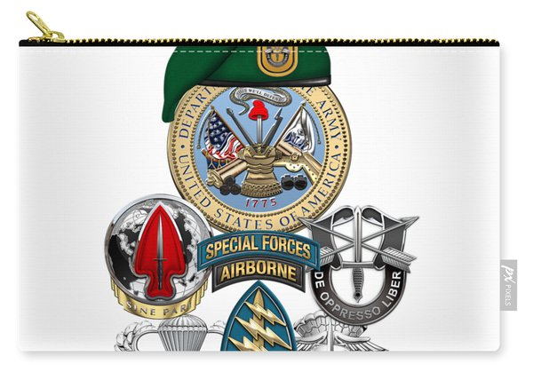 1st Special Forces Group - Green Berets Special Edition Carry-all Pouch