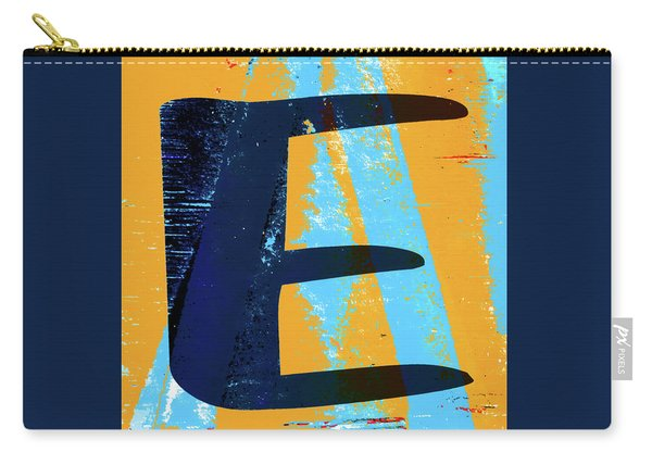 Big Letter E Square Carry-all Pouch