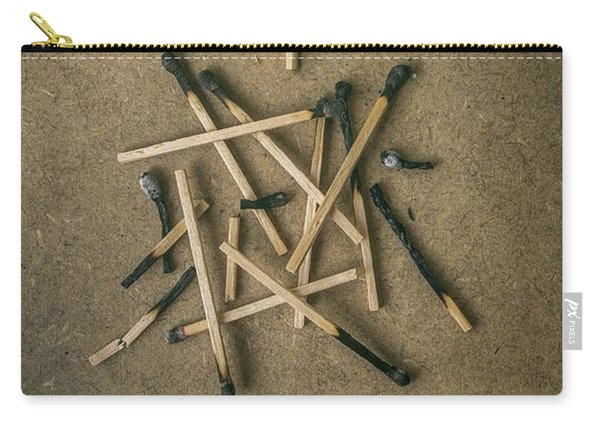 Burnt Matches Carry-all Pouch